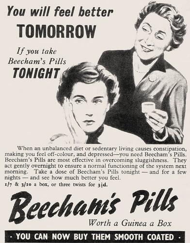 Συνεργασία με την Εταιρεία φαρμάκων Beecham και εισαγωγή του πρώτου αντιβιοτικού πενικιλίνης, «Penbritin»