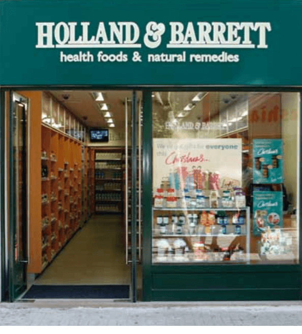 Holland & Barrett Stores opened