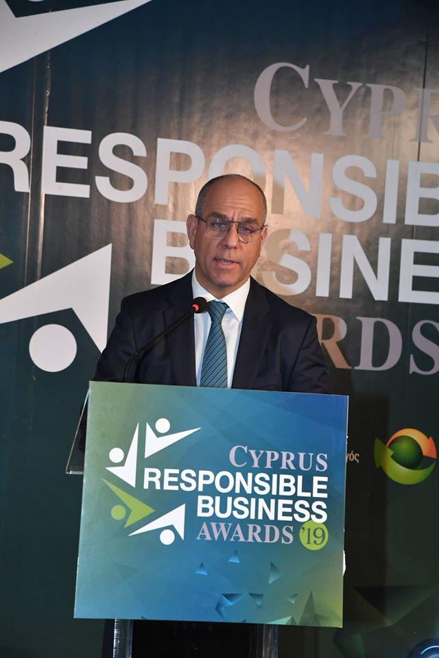Διάκριση με βραβείο Gold στην κατηγορία Excellence in Leadership Development και βραβείο Bronze στην κατηγορία Innovative Use of HR Technologies στα Cyprus HR Awards