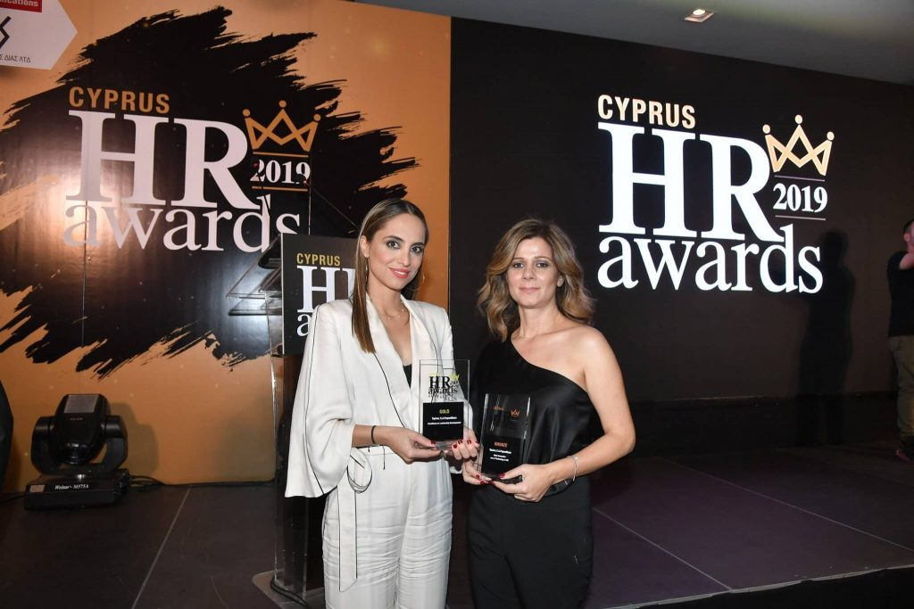 "Two awards for C.A Papaellinas Group in the categories ""Society"" and ""Education/Scholarships"" at the Cyprus Responsible Business Awards 2019."